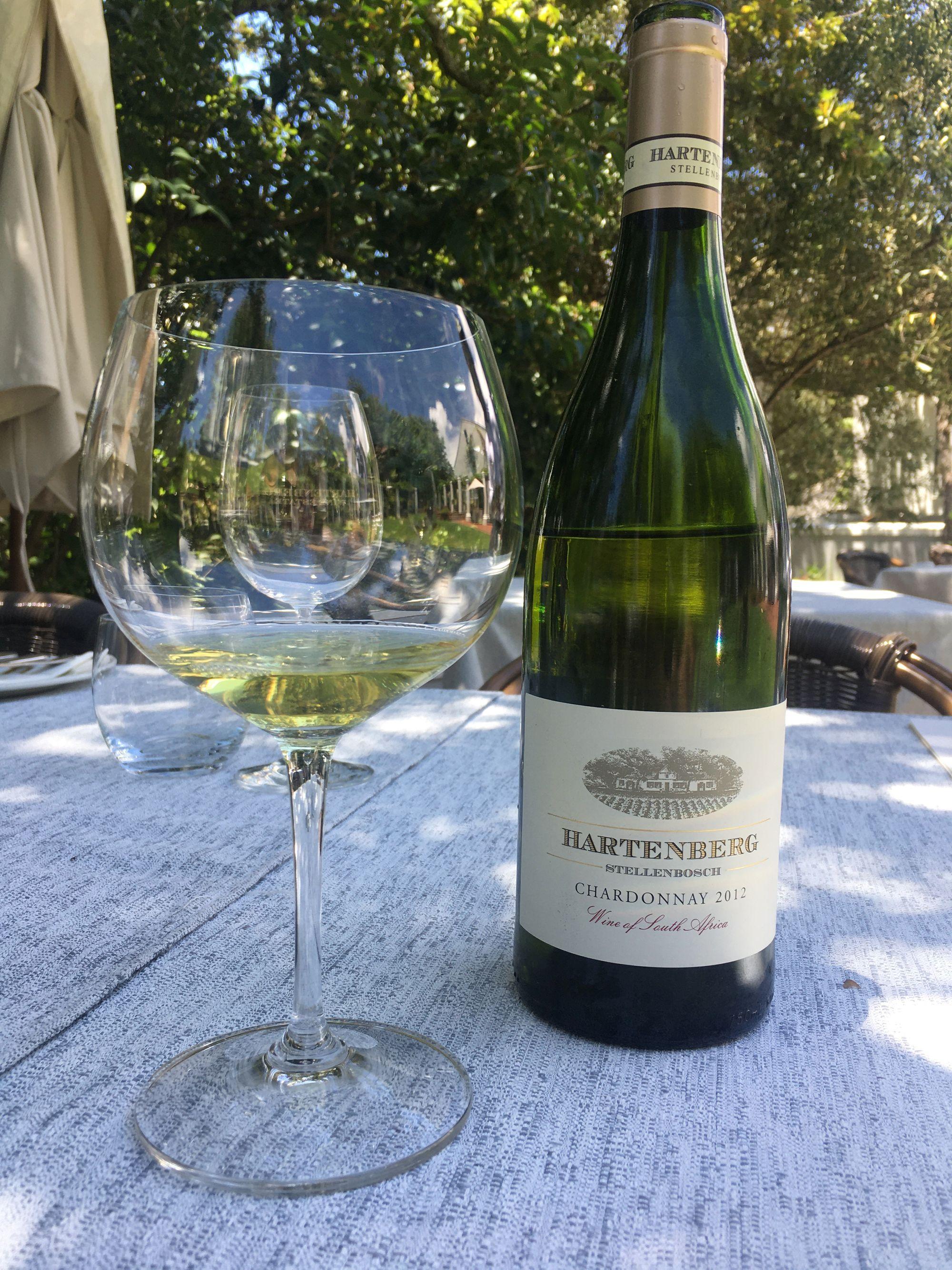Hartenberg Chardonnay 2012