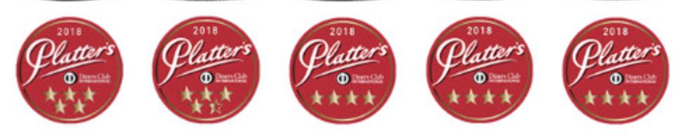 Platter's Award labels