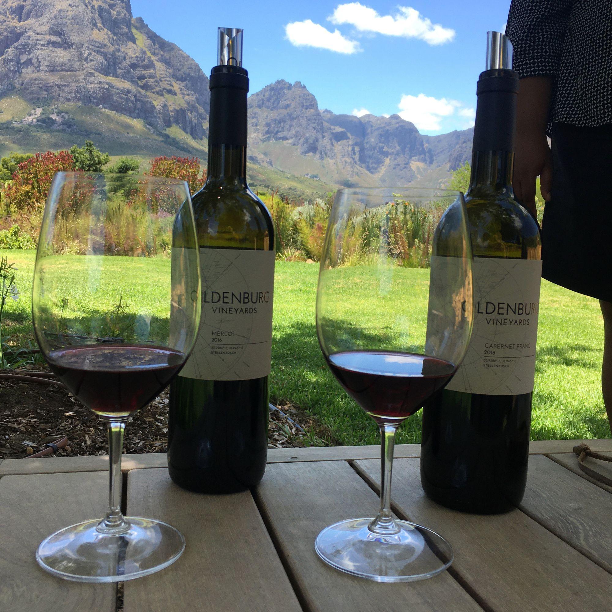 Oldenburg Vineyards Merlot and Cabernet Franc