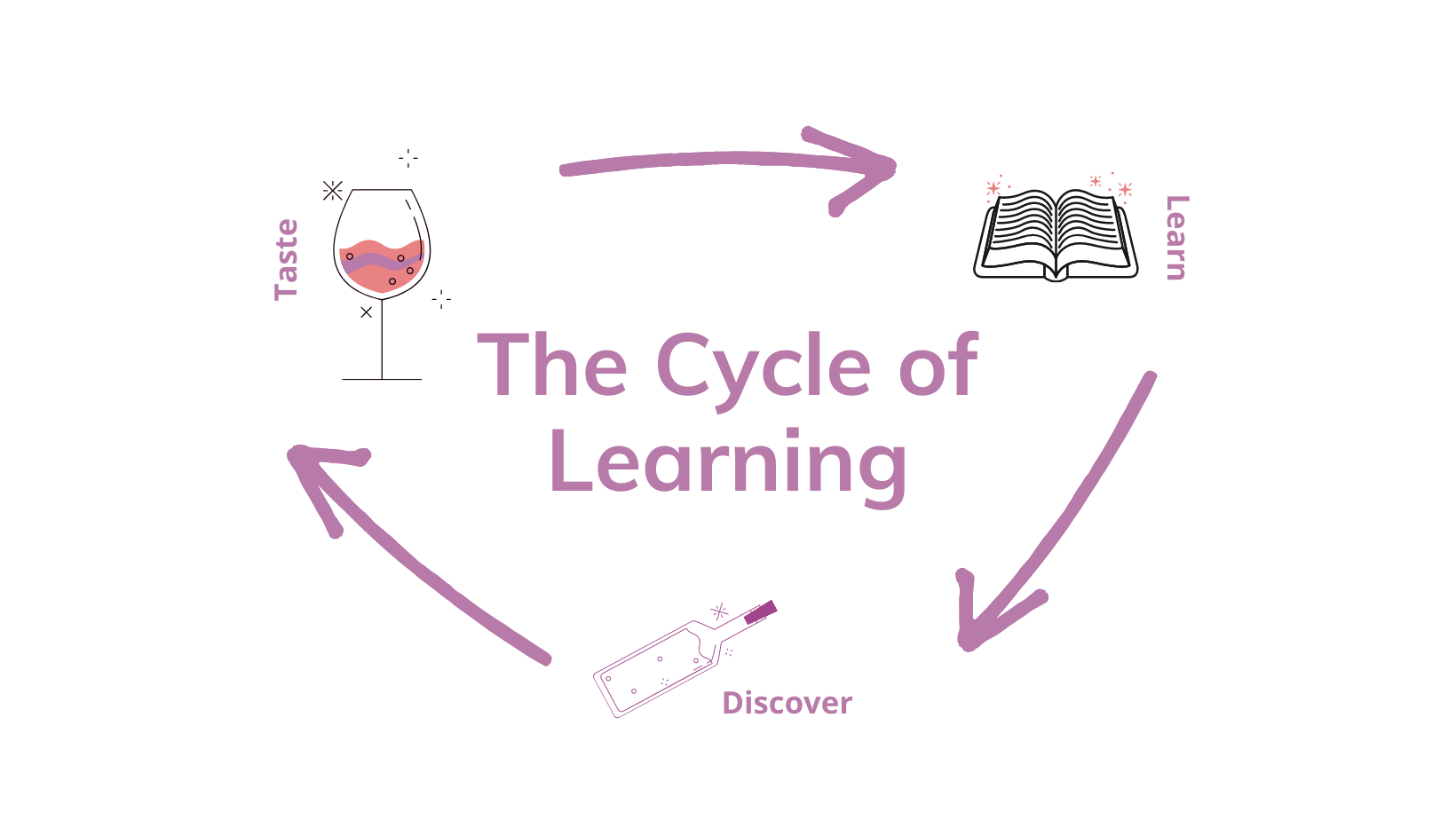 The Cycle of Learning: Taste, Learn, Discover